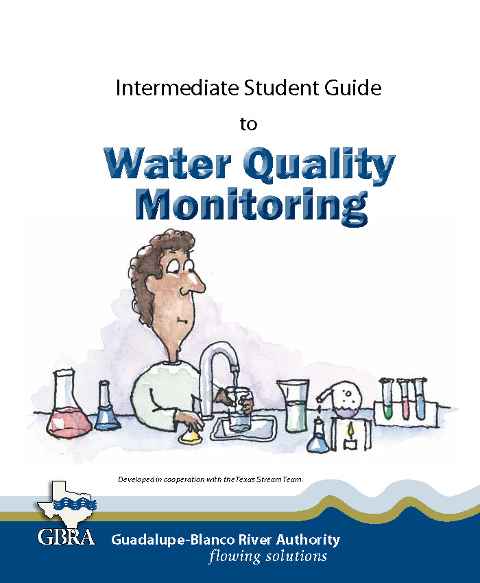 Water Quality Monitoring booklet cover